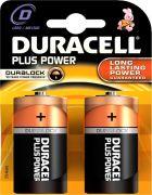 Duracell D Duracell Plus - 1.5V 2 pack