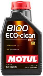 Motul 8100 ECO-CLEAN 0W20 1L