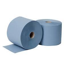 DCQ 1 pak (2 st.) blauwe doeken