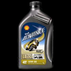 Shell Advance Ultra 4T 15W50 1L