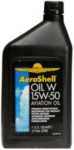 Shell AeroShell Oil W 15W50 12 x 1 QT (0.95L)