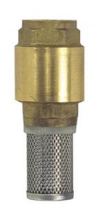 DCQ Voetklep met filter 3/4''
