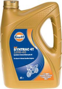 Gulf Syntrac 4T 10W40 4L