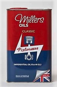 Millers Classic Differential Oil 85W140 GL5 1L